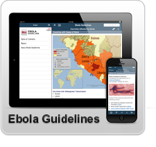 Ebola Guidelines App from Unbound Medicine